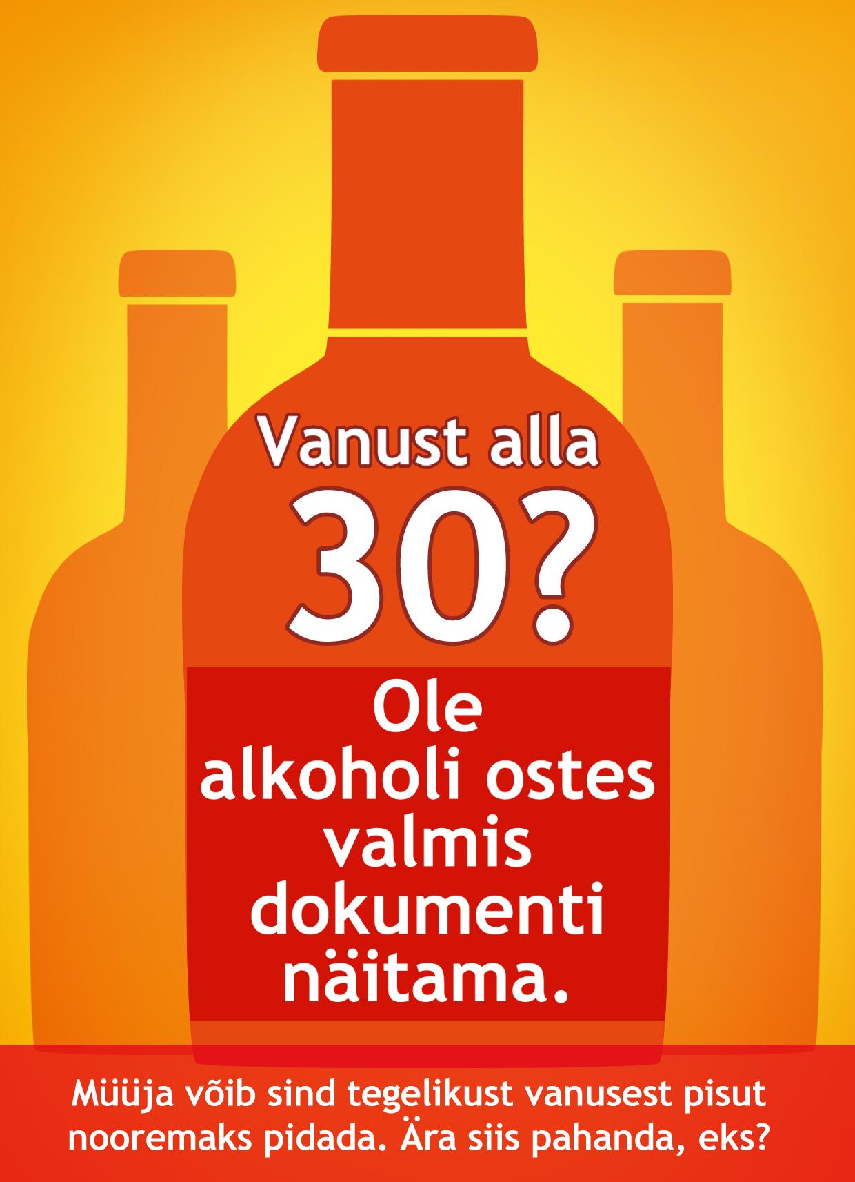 Alko alla-30 plakat
